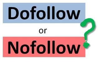 nofollow or dofollow