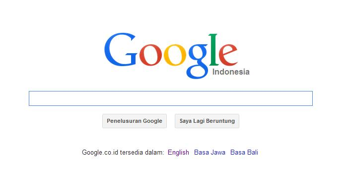 Google.co.id berbahasa Indonesia