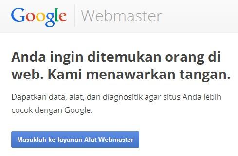 seo dan google webmaster tool